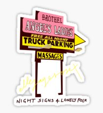 Night Signs 4 Lonely Folk #1 Sticker