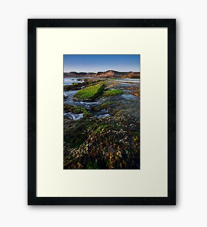 Continental Shift Framed Print