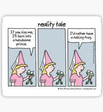 reality tale Sticker