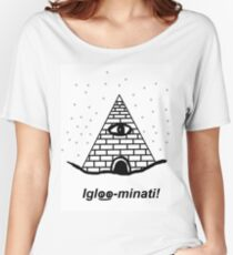 The Igloo-minati Women's Relaxed Fit T-Shirt