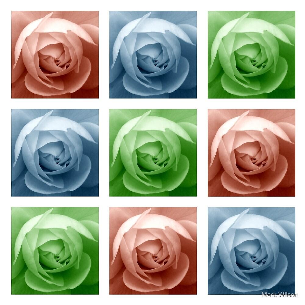 Rose Mosaic by Mark Wilson