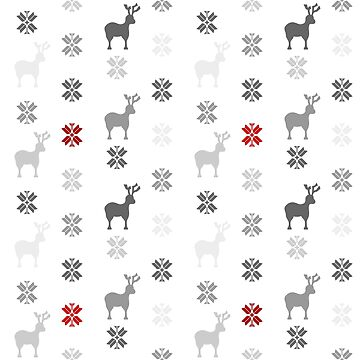 Winter themed pattern design by SooperYela