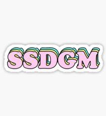 Pegatina SSDGM