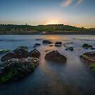 Sunrise over a bay of Blacksea by hayrettinsokmen