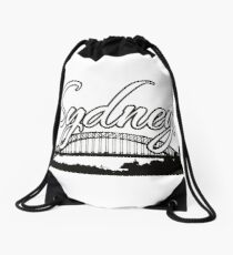 Sydney NSW Australia Design  Drawstring Bag