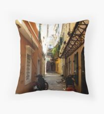 The back streets Throw Pillow