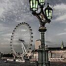 London Eye Lanterns by Marie  Cardona