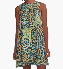 Persian Ceramic Design 20 A-Line Dress