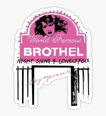 Night Signs 4 Lonely Folk #3 Sticker