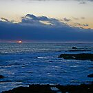 Sunset in Blue by TaniaLosada