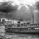 Morning Star Ferry Hong Kong by Mark Higgins