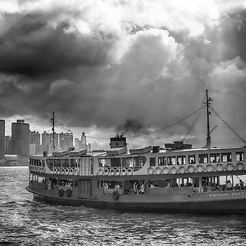 Morning Star Ferry Hong Kong by markhiggins