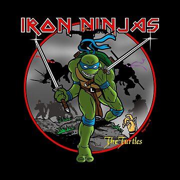 Iron Ninjas by BoggsNicolasArt