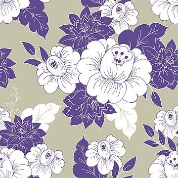 Violet garden by IrynMerry