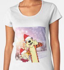 Hobbes Christmas Women's Premium T-Shirt