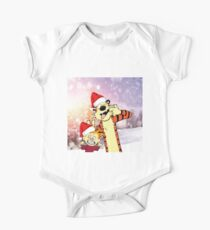 Hobbes Christmas One Piece - Short Sleeve