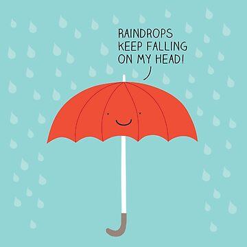 Raindrops by Milkyprint