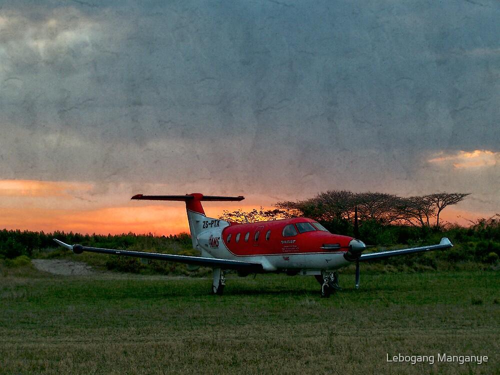 Sunset in the Zulu Farmlands by Lebogang Manganye