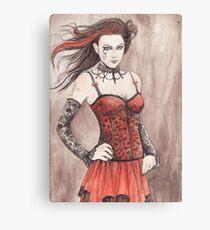 Mis Gothika Canvas Print
