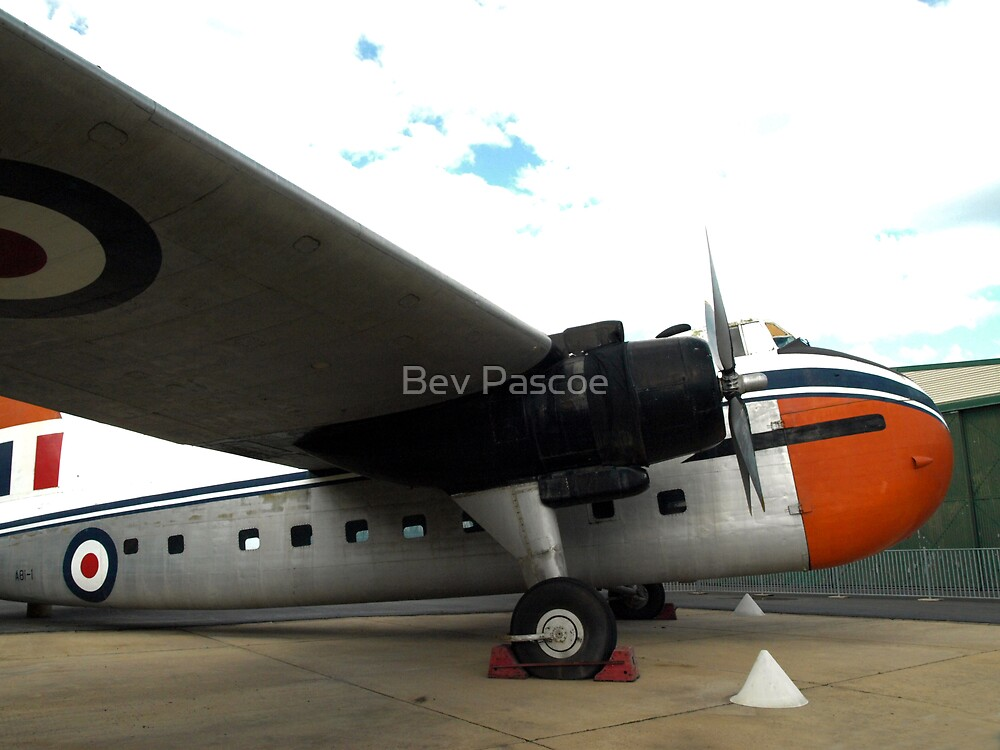 Bristol Freighter Mark 21 (A81-1) - RAAF Museum, Pt Cook,Victoria by Bev Pascoe