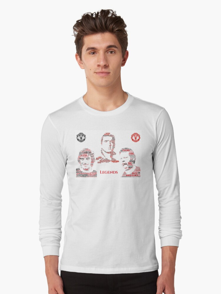 'Manchester United Legends - Best - Cantona - Giggs' T-Shirt by TheIcons