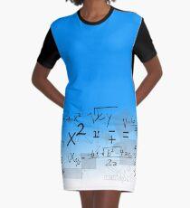 mathematics Graphic T-Shirt Dress