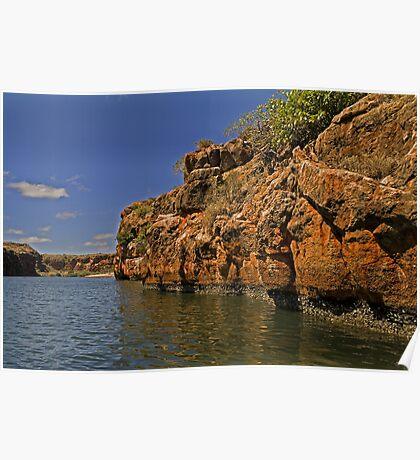 Yardie Creek Rockface Poster