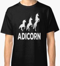 Adicorn Adidas anicorn tshirt Classic T-Shirt