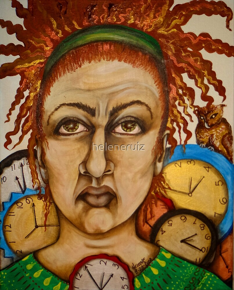 With time comes...... A self Portrait by helene ruiz
