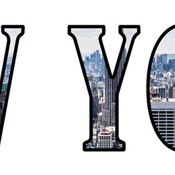 new york skyline by gleba420