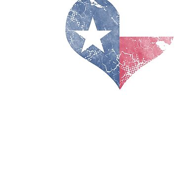 I Love Texas Beer Flag by frittata