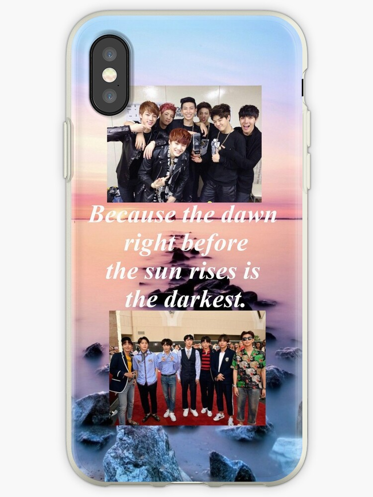 Bts Tomorrow Quote For Phone Case 2013 2018 Iphone Cases Covers