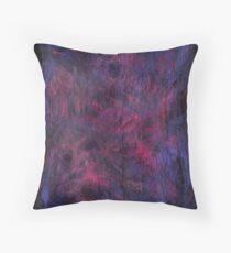 Violet Burning Throw Pillow