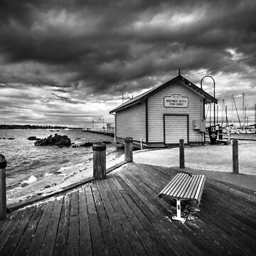 Hastings fishing shed, Victoria by Maiden