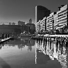 Sunny Docklands  by Christine Wilson