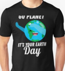 Earth Day dabbing shirt Supporting for Earth Day Unisex T-Shirt