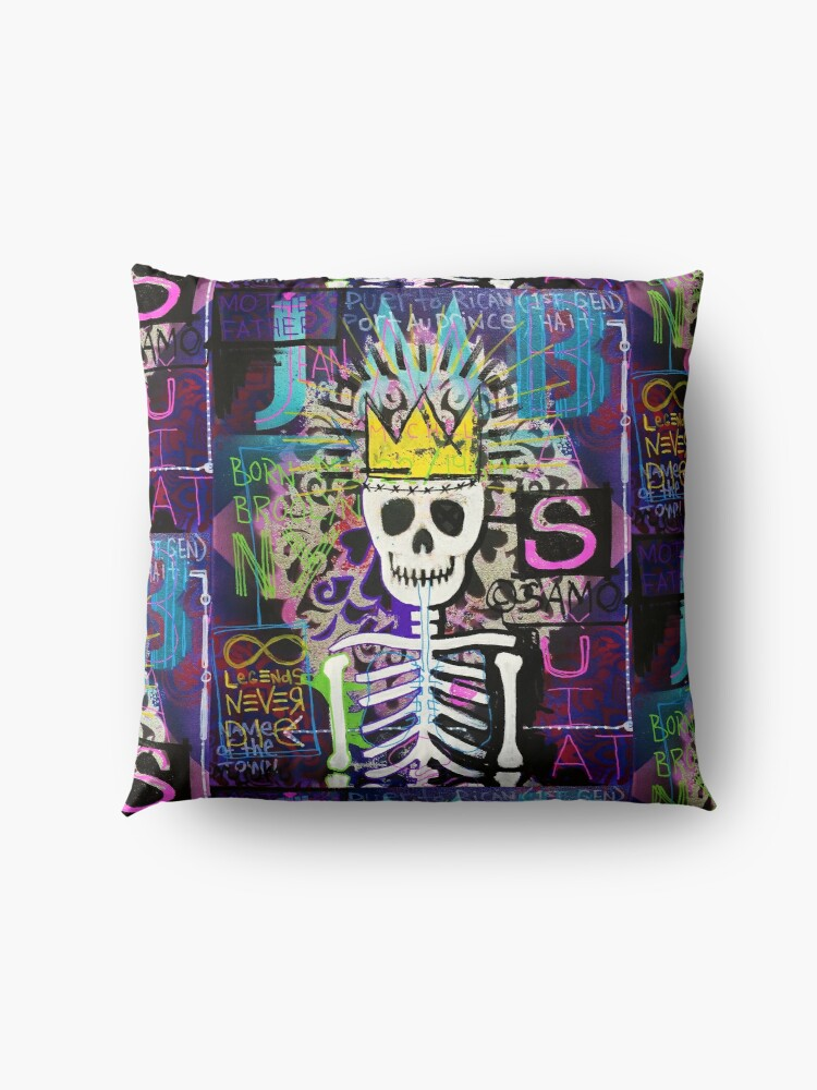 Alternate view of A Tribute to JMB Floor Pillow