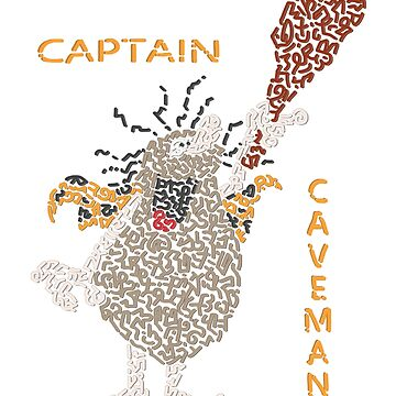 Captain Caveman  by Karotene