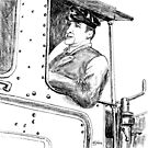 BR engine driver by Woodie