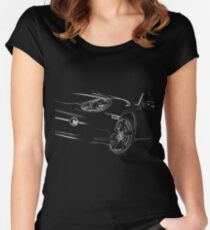 Porsche Cayman Detail Women's Fitted Scoop T-Shirt