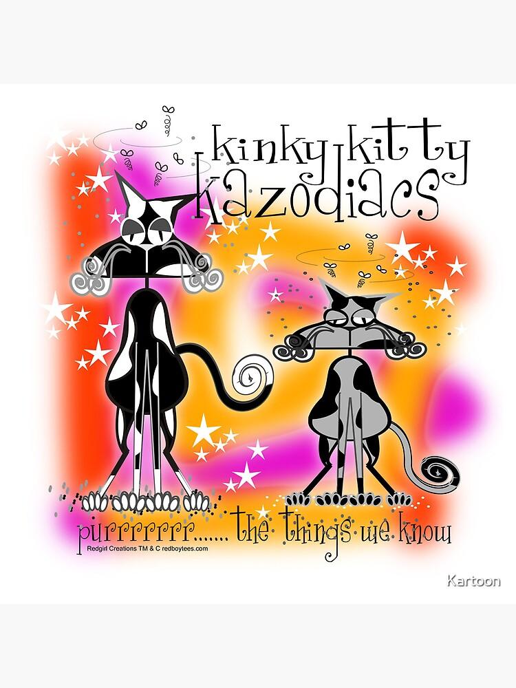 KINKY KITTY - Kinky Astrology by Kartoon