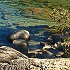 LAKE TAHOE~ SHORE COLORS  by Elaine Bawden