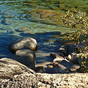 LAKE TAHOE~ SHORE COLORS  by elainebawden