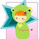 Frog by claclina
