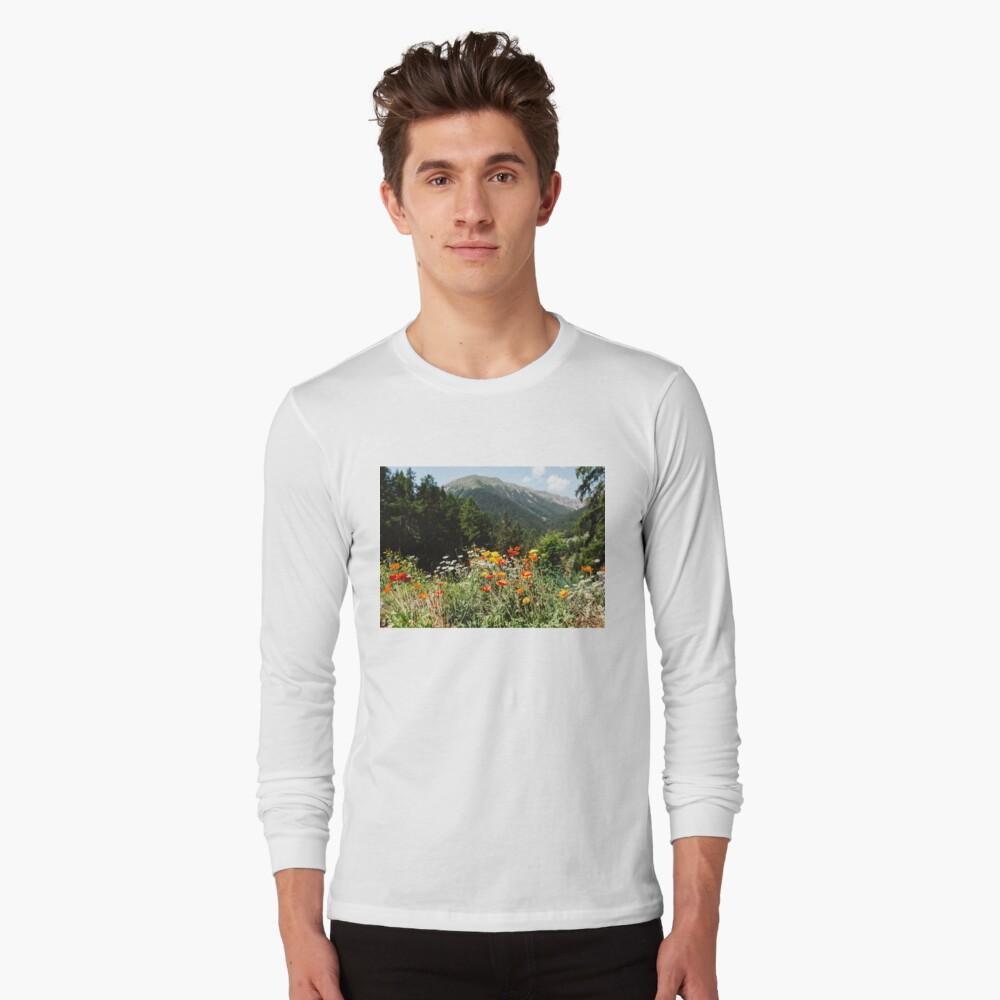 Mountain garden Long Sleeve T-Shirt