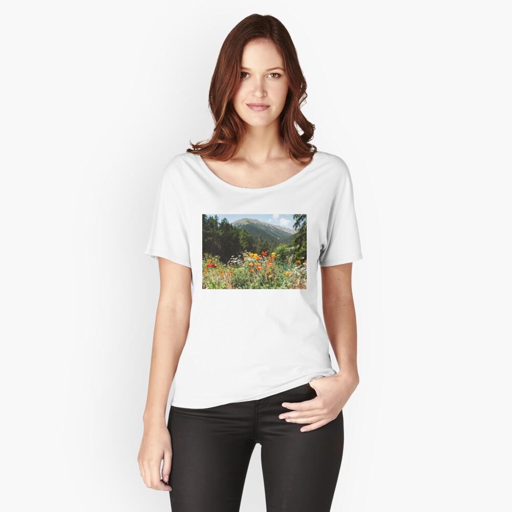 Mountain garden Relaxed Fit T-Shirt