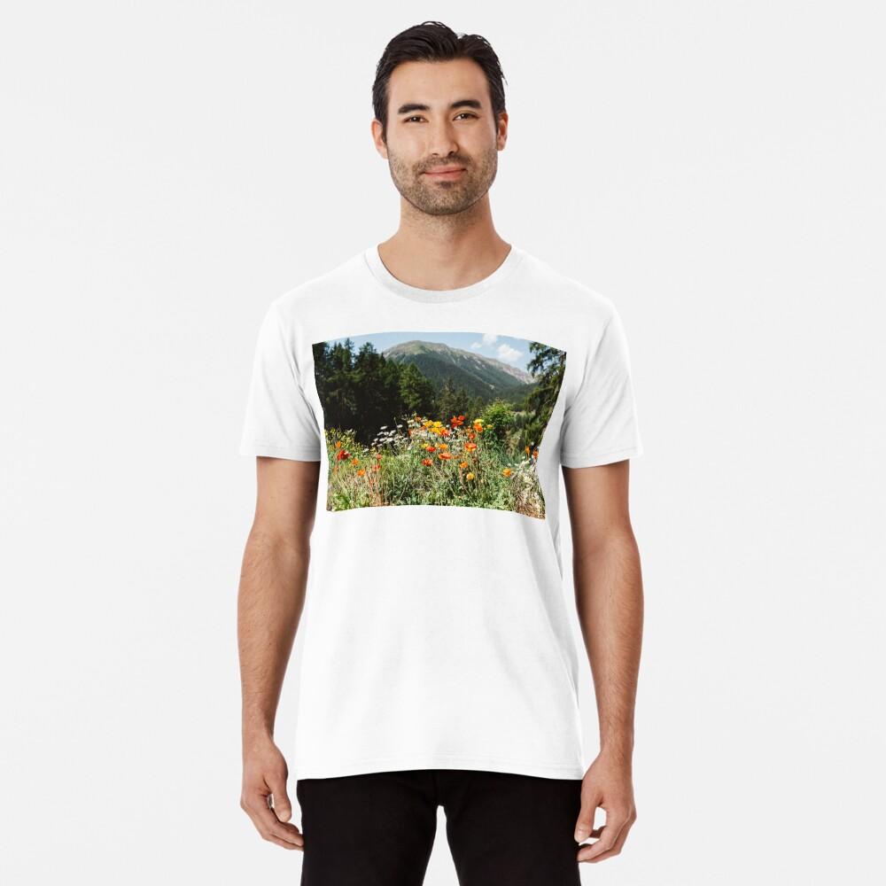 Mountain garden Premium T-Shirt