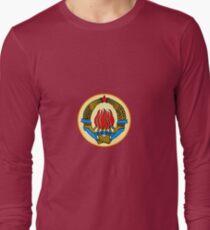 COAT OF ARMS  YUGOSLAVIA Long Sleeve T-Shirt