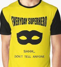Everyday Superhero Graphic T-Shirt
