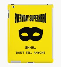 Everyday Superhero iPad Case/Skin